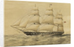 Clipper ship 'Renown' by Thomas Goldsworth Dutton