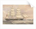 'Silver Eagle' (1861) clipper ship by unknown