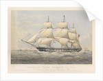 Clipper ship 'Lord Warden' by Thomas Goldsworth Dutton