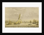 The Thames barge 'Charlotte', towed in by 'Vigilant' off Greenwich by unknown