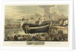 Launch of a first-rate man-of-war at Woolwich by Richard Holmes Laurie