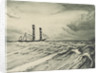 Sailing vessel at sea (1) by John Everett