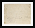 Study of part of a Dutch merchant ship by Willem Van de Velde the Younger