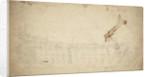 Portrait of a French two-decker by Willem van de Velde the Elder