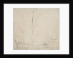 A ketch before the wind by Willem Van de Velde the Younger