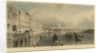 London from Somerset House looking east by T. Allom
