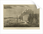 View of the wet docks from Blackwall by Robert Laurie & James Whittle