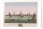The harbour of Enkhuysen by F.B. Probst