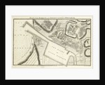 Plan of the harbour and fortifications of Boulogne by John Russell