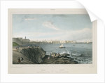 View of Cadiz in Andalucia by Chapuy