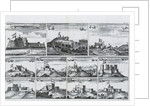 Views of forts and castles along the Gold Coast, West Africa by unknown