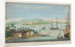 A view of Truxillo Bay and city on the coast of Honduras by T. Bowen