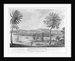 A prospect of Port Antonio, and town of Titchfield, in the Parish of Portland, on the North side Jamaica, taken from Navy Island by unknown