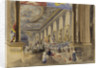 The Painted Hall, Greenwich, 1 June 1843, open to the public as an art gallery by Thomas Smith Cafe
