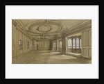 The drawing room of Crowley House, Greenwich by Clarkson Stanfield