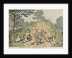 One-Tree-Hill, Greenwich Park by Thomas Rowlandson