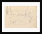Studies of fishermen and craft, Portsmouth, 1813 by John Christian Schetky