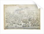 The Battle of Lowestoft, 3 June 1665, after the blowing up of the 'Eendracht' by Willem van de Velde the Elder
