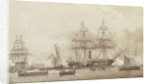 Arrival of Louis Philippe at Portsmouth 5 October 1844 by John Wilson Carmichael
