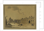 Greenwich Hospital from the West [with the Infirmary] by Charles White