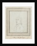 Sketched portrait of Cribben Master of the 'Pegase' by unknown