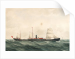 Steam ship 'Manora' by H. Percival