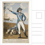 Richard Parker, President of the delegates in the mutiny at the Nore by William Chamberlain
