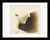 Study of the nose, mouth and chin of a human figure by Margaret Louisa Herschel