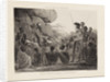 South African Sketches. Plate II. The Revd Mr Moffat Preaching to the Bechuana by Charles Davidson Bell