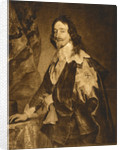Portrait of Charles I by Maison Braun Clement & Co.