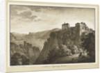 Schloss Tyrol bey Meran by Franz Schweighoter