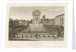 Vue du Marche & de la Fontaine des Innocens by Courvoisier