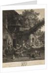 The Jocund Peasants by Cornelius Du Sart