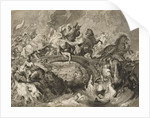 Battle of the Amazons by Peter Paul Rubens
