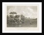 View on the Banks of the Tiber by J. Smith