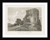 Denbigh Castle North Wales by Francis Nicholson