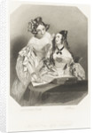 The Honble the Misses Beauclerk by Alfred Edward Chalon