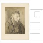 Portrait of a monk by Charles Joseph Hullmandel