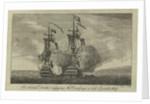 Sir Francis Drake engaging the 'Cacafuego', a rich Spanish ship by John June