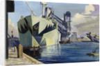 The Canada dock by Herbert Barnard John Everett