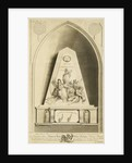This Print represents the Monument in Guildhall of the City of London, in Commemoration of Admiral Lord Visct Nelson by George Ballisat