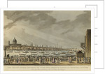 Lord Nelson's Funeral Procession by Water from Greenwich Hospital to White-Hall, Jany 8th 1806 by unknown