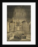 Interment of Nelson at St Paul's, 9 January 1806 by William Orme