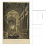 The Funeral Ceremony of Lord Nelson, in St Paul's Cathedral, 9th of Jany 1806 by Mcquin