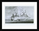 HMS 'Crescent' attacking the French frigate 'La Reunion', 20 October 1793 by Robert Dodd