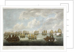 To The Honble East India Company. This Print of the Action between the China Fleet... by F Sartorius