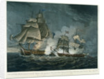Sloop of war 'Little Belt' in action by William Elmes