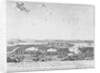 Atack of HMS 'Havannah' and sloop 'Weazle' upon Zara in Dalmatia by Frans Baltazar Solveyns