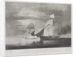 Capture of the slave Schooner 'Bolodora', by HM schooner 'Pickle' by William John Huggins