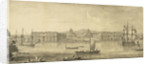 A prospect of Greenwich Hospital from the river by Jacques Rigaud